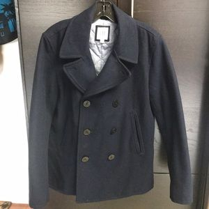 Peacoat, wool, GAP. Size small (36-38).